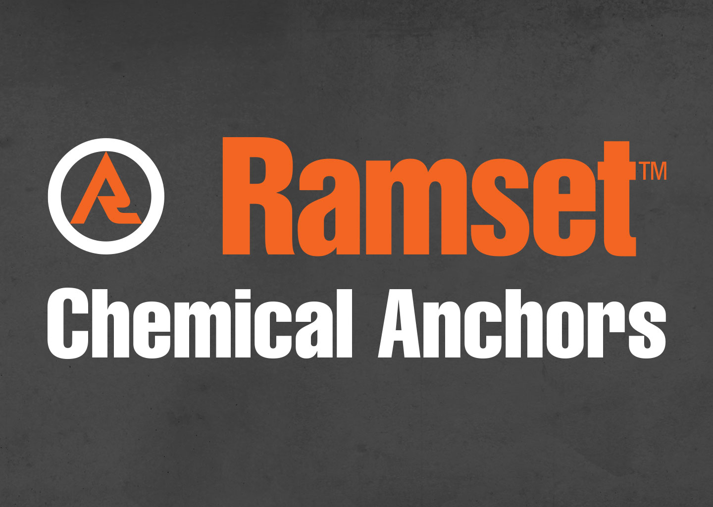 Ramset Chemical Anchors